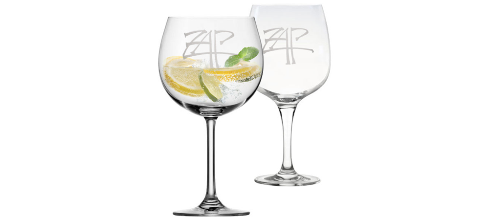 Wineware Branded Glasses