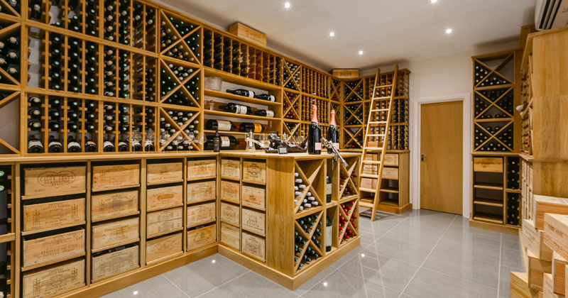 Custom Wine Cellar Testimonial