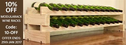 10% OFF Modularack Wine Racks