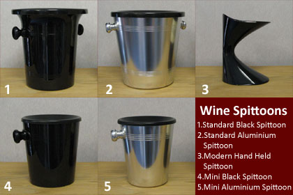 Wineware's Wine Spittoons