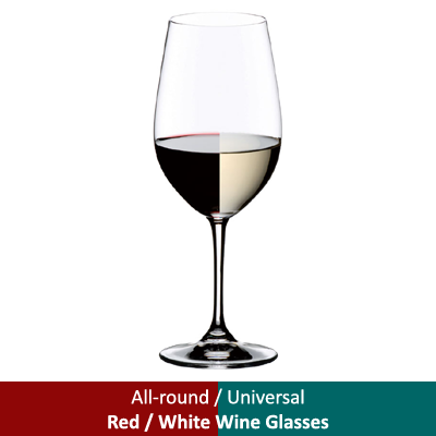 All-round / Universal - Red / White Wine Glasses