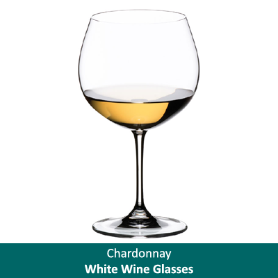 Chardonnay White Wine Glasses
