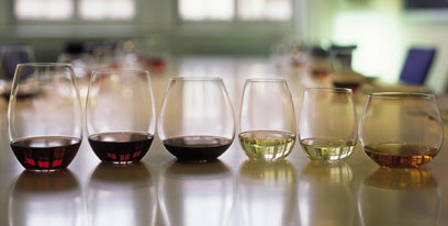 History of stemless wine glasses