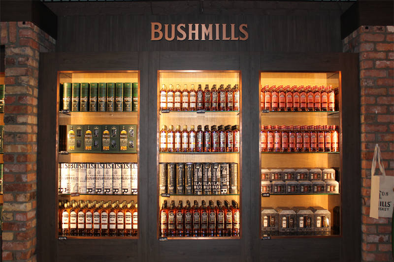 Bushmills Whiskey Distillery