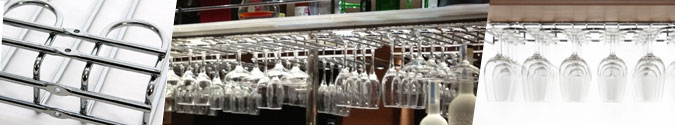 Glass Hanging Rack