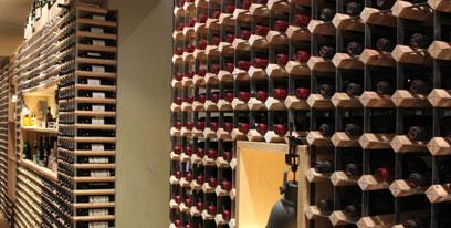 Wine Racking for Restaurants