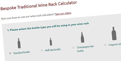 Wine Rack Calculator