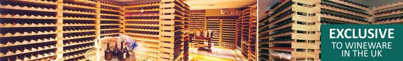 Modularack Wine Racks - Exclusive to Wineware in the UK