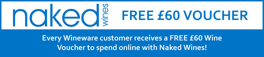 £60 FREE Naked Wines Voucher from Wineware