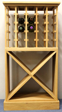 How To Order A Bespoke Wine Rack Winewarecouk