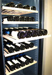 Storage for wine