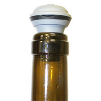 Plastic bottle stopper
