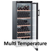 Multi Temperature Wine Cabinets