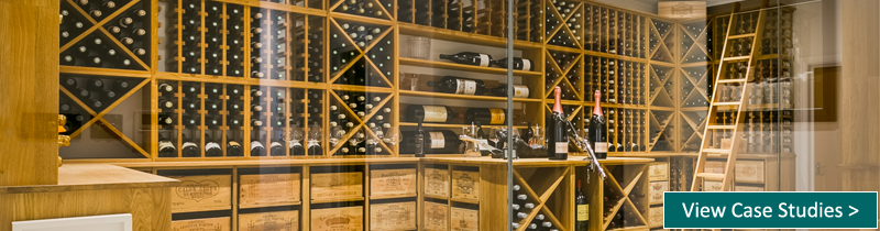 View our wine cellar case studies!
