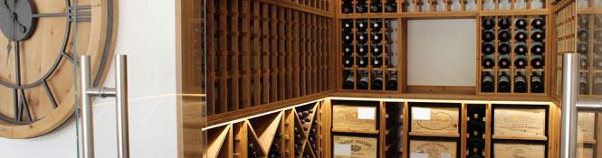 Pine Wine Racking