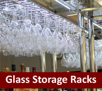 Barware - Glass Storage Racks