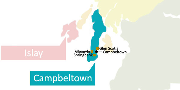 Scottish Whisky Regions - Campbeltown