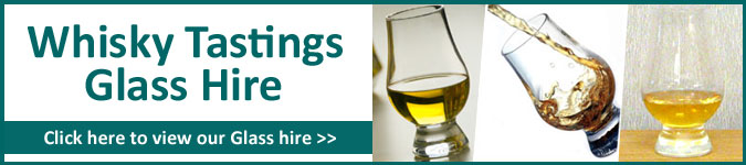 Whisky Tastings Glass Hire