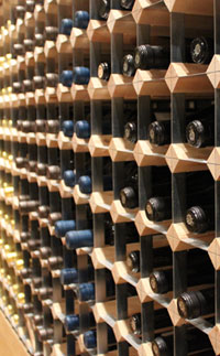 Bespoke traditional wine rack