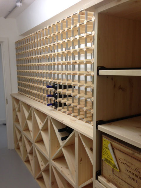 Traditional Wine Racks Made To Order Traditional Pine
