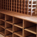 Solid Pine Wine Racking