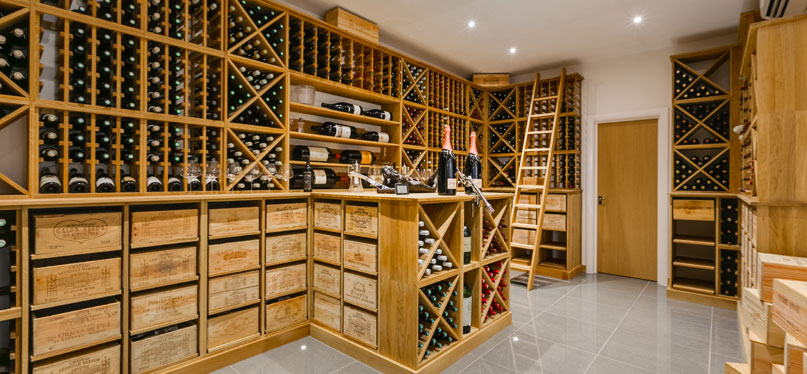 Custom Wine Cellars & Rooms UK - Wineware.co.uk