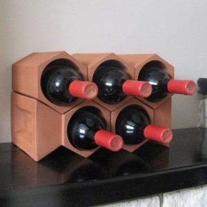 Terracotta Wine Rack Combination 9