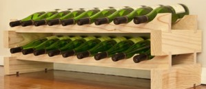 Competition - Win a natural pine Modularack wooden wine rack (18 Bottle)