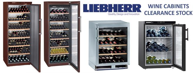 Liebherr wine coolers now reduced!