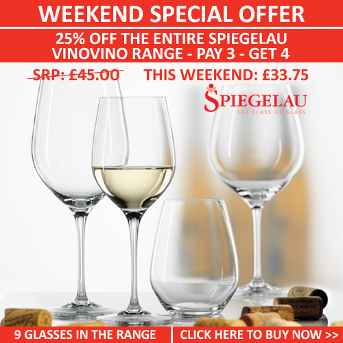 Spiegelau Vinovino | Available from www.wineware.co.uk