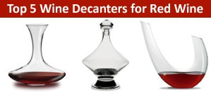 The best wine decanters for red wine