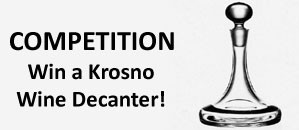 Win a Krosno Plain Ships Wine Decanter in the Wineware Competition!