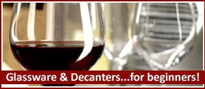 Wineware's selection of Wine Glasses & Decanters for beginners!