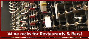 Wine racks for Restaurants & Bars supplied by Wineware!
