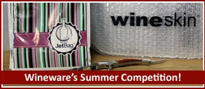 Win Wine Travel accessories in the Wineware Summer Competition!