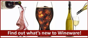 New wine accessories added to the Wineware collection