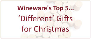 Wineware's Top 5 Quirky / Different Gifts for Christmas!