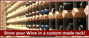 Why You Should Store Your Wine Collection in a Custom Made Wine Rack