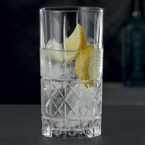 Nachtmann Highland Cut Glass Long Drink Mixer Tumbler