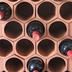View more flat pack wine rack from our Terracotta Wine Racks range
