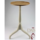 Standard Select Dais Wine Table - Natural Oak Top with Farrow and Ball Classical Column