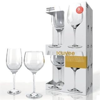 Montana Cuvee Red Wine and Burgundy Glass - Set of 8
