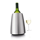 VacuVin Rapid Ice Prestige Wine Cooler - Stainless Steel