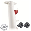 VacuVin Wine Saver / Preserver - Gift Pack - 1 Pump 2 Stoppers