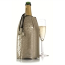 VacuVin Rapid Ice Champagne Cooler Sleeve - Platinum