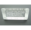 Riedel Glass Block / Paperweight