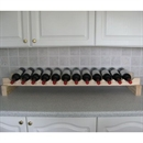 Modularack Wooden Wine Rack Additional Layer - 12 Bottle Wide - Natural Pine 1H x 12W