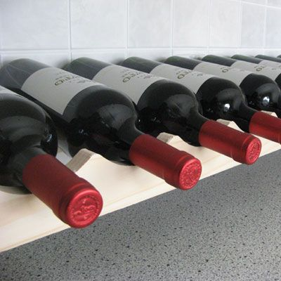 Modularack Wooden Wine Rack Additional Layer 12 Bottle Wide