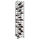 Big Metal Wine Rack Fully Assembled - 48 Bottle