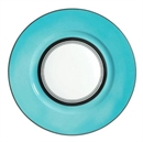 Raynaud Cristobal Turquoise Dinner Plate Wide Band 27cm